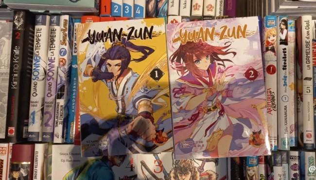 登陆浪漫之都,《元尊》漫画法语图书正式上市