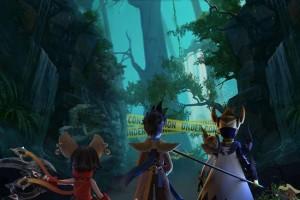 王者荣耀召唤师才懂的3D动画《峡谷重案组》今日上线